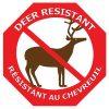 Deer Resistant Sign