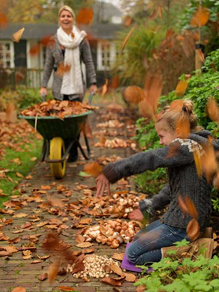 Fun with Fall Gardening Chores