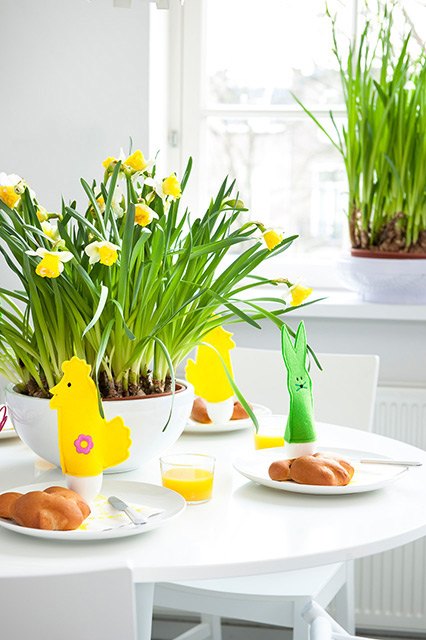 Easter Living Arrangements - Vertical